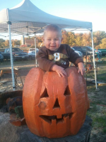 Big Jack-o-Lantern in Ozaukee County